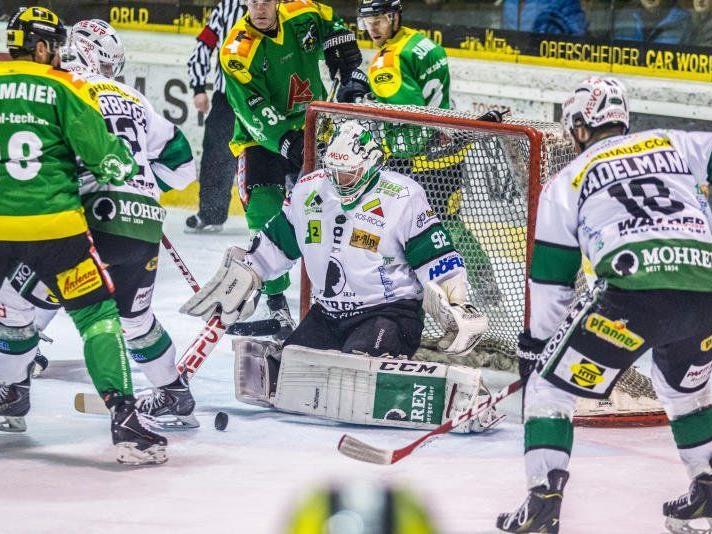 Bregenzerwald liegt gegen Lustenau mit 0:3 im Rückstand.