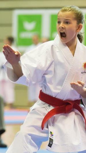 Die jungen Karatekas räumten beim Lions Cup in Lustenau ab.