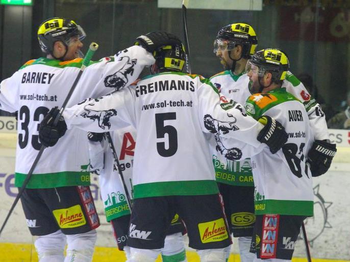 EHC Lustenau gewinnt das zweite Spiel gegen die Wälder und führt mit 2:0