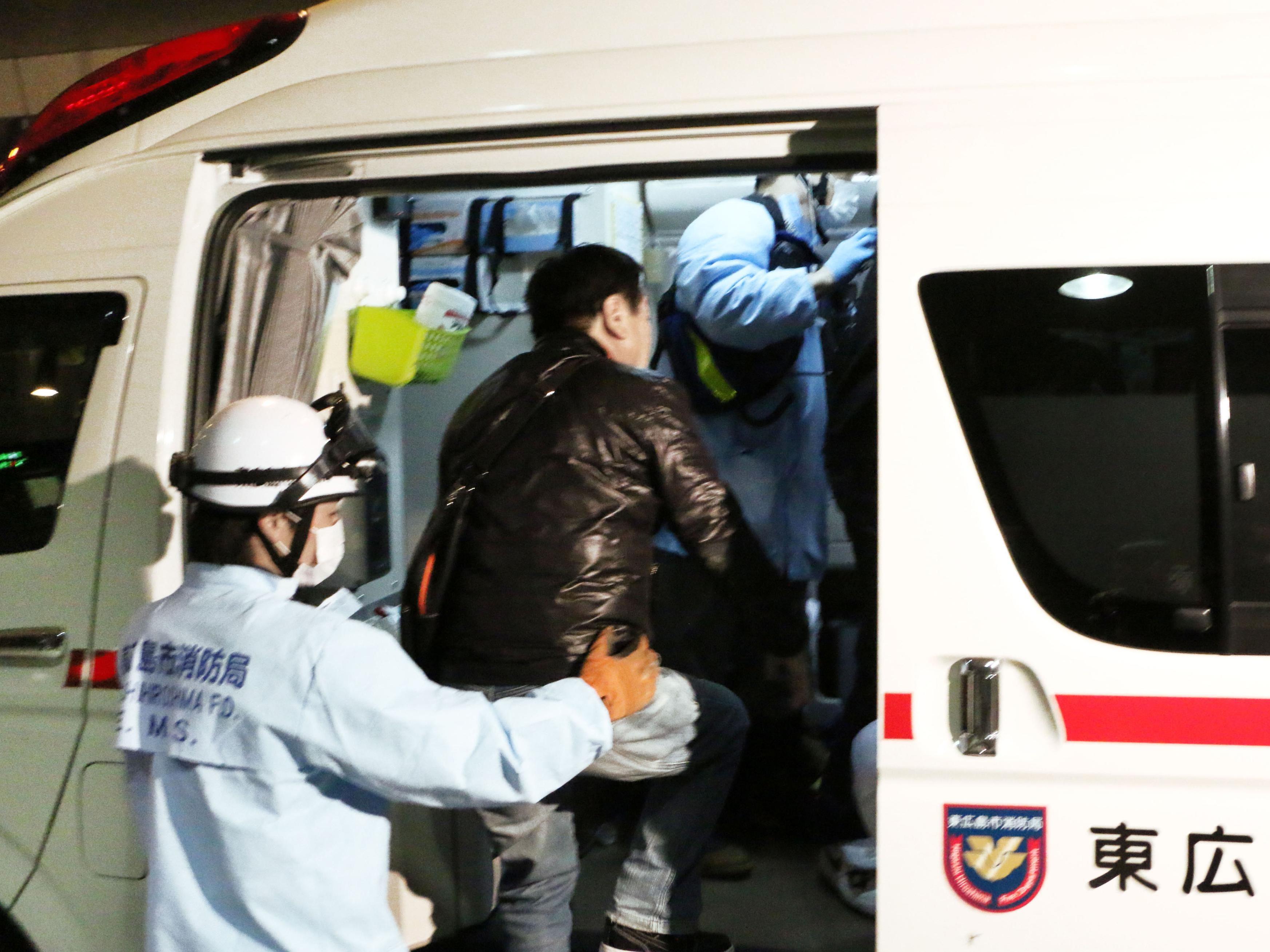 Ein Flugzeugunglück in Japan ging glimpflich aus.