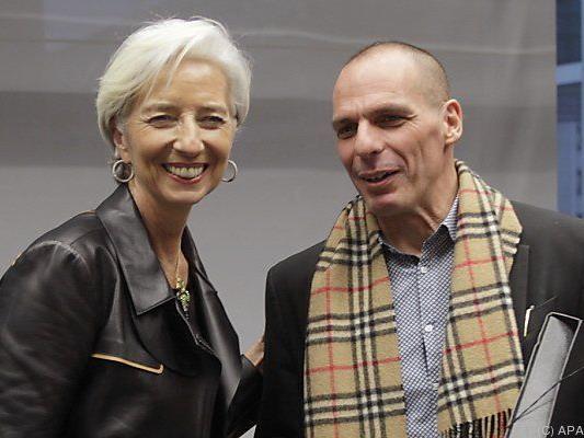 Lagarde und Varoufakis vereinbarten bessere Zusammenarbeit