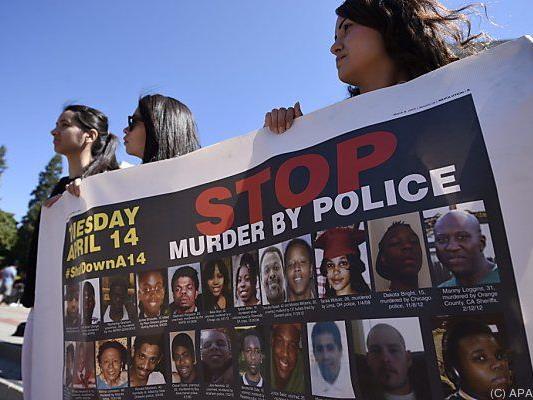 Die Fälle von Polizeigewalt gegen Schwarze mehren sich