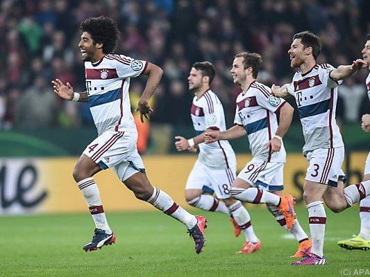 Die Bayern haben den 18. Cup-Triumph im Visier