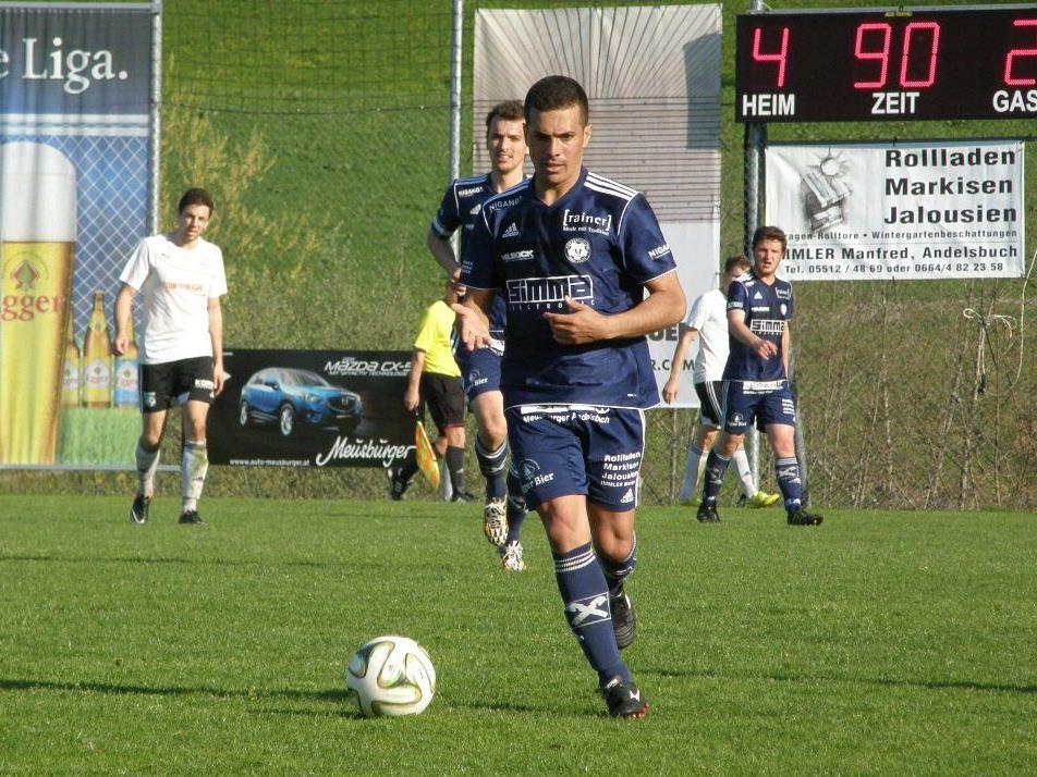 Ueverton da Silva bot gegen Alberschwende eine Klasseleistung.