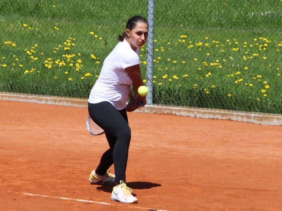 Sogar Tamira Paszek trainierte schon in Hittsau.