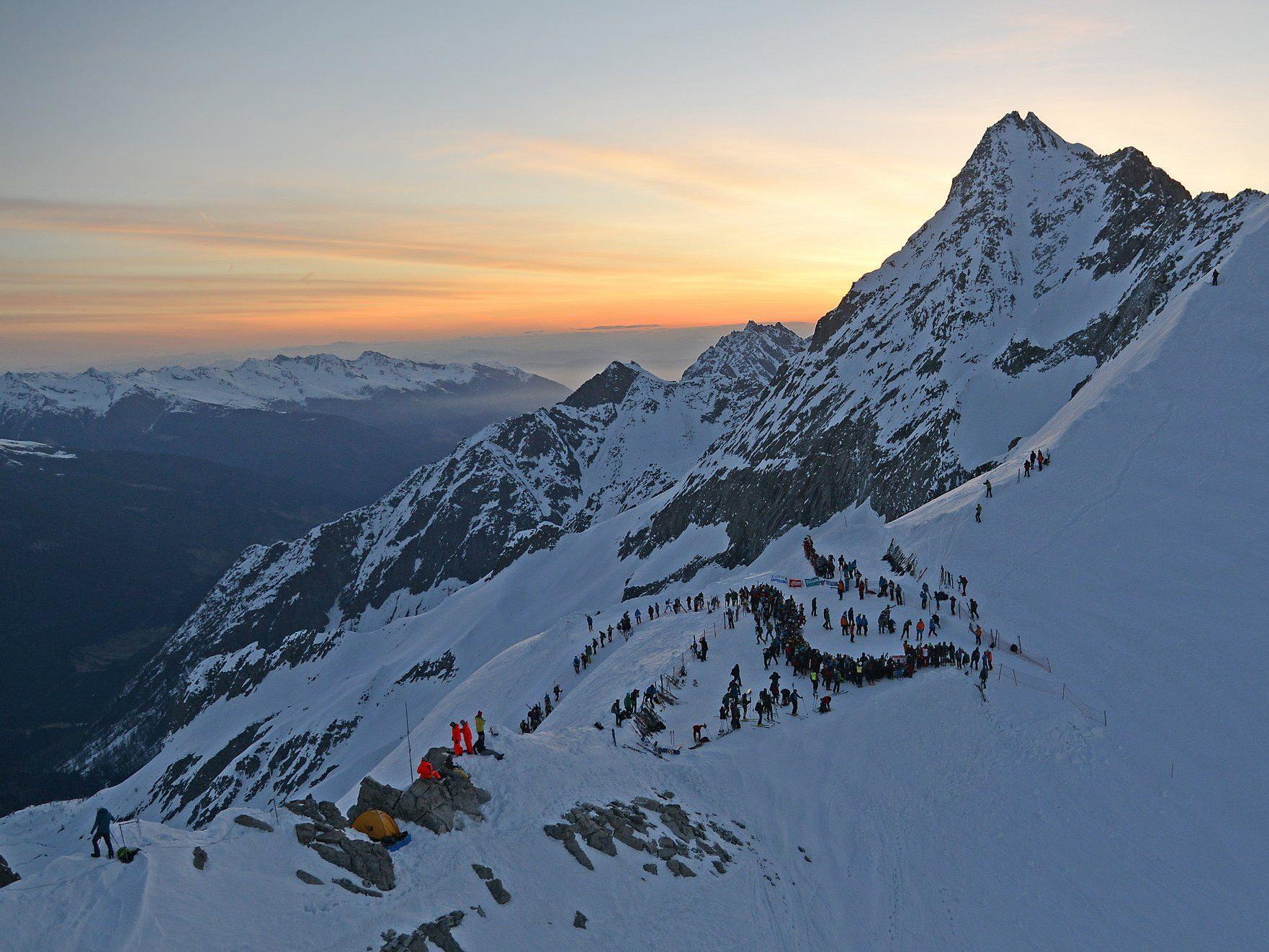 Fünf Vorarlberger waren beim schweren Skibergsteiger Event mit dabei.
