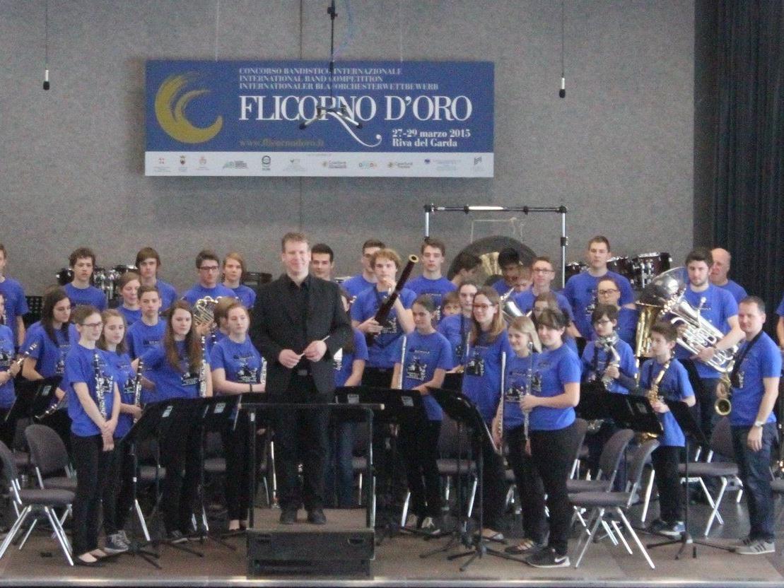 Erfolgreiches Schulblasorchester der MS Walgau in Riva del Garda beim Internationalen Blasmusikwettbewerb