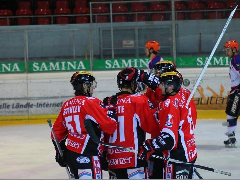 VEU Feldkirch muss das zweite Finalspiel am Ostermontag gewinnen.