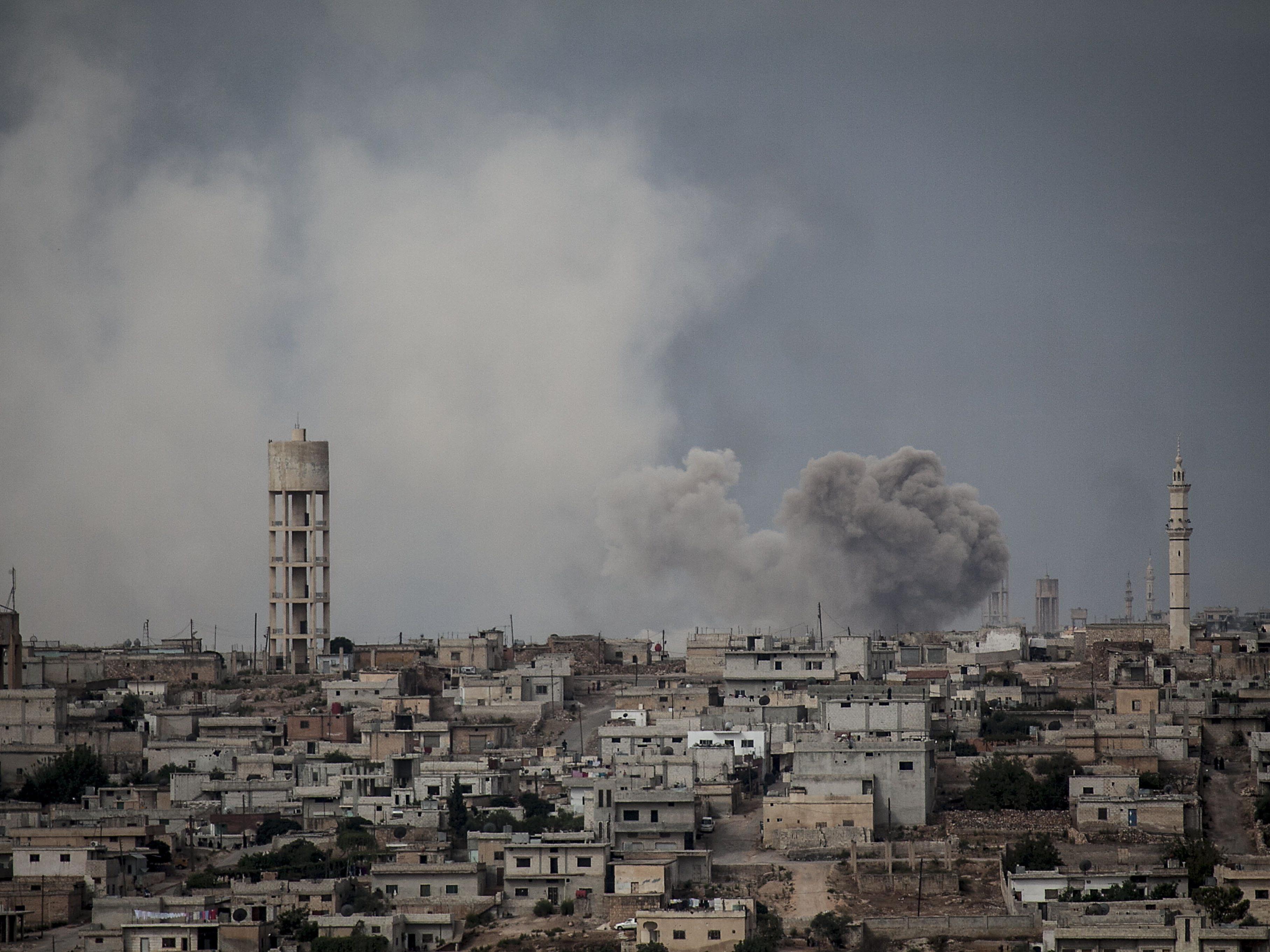 Schon öfters wurde Idlib Opfer von Bombenanschlägen.