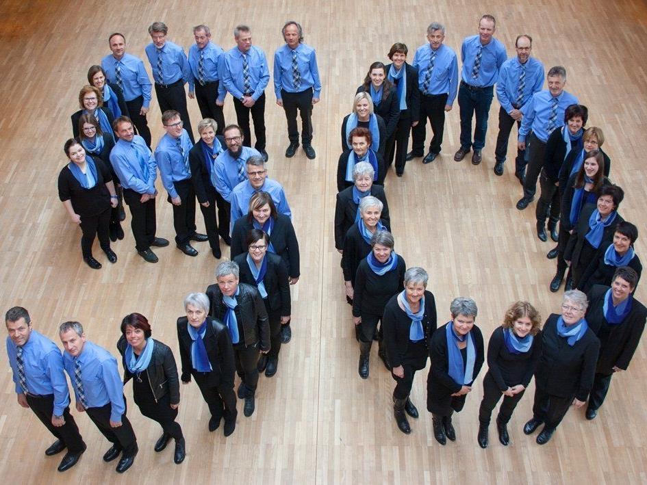 Die Mitglieder der Chorgemeinschaft Hittisau haben im Jubiläumsjahr viel vor.