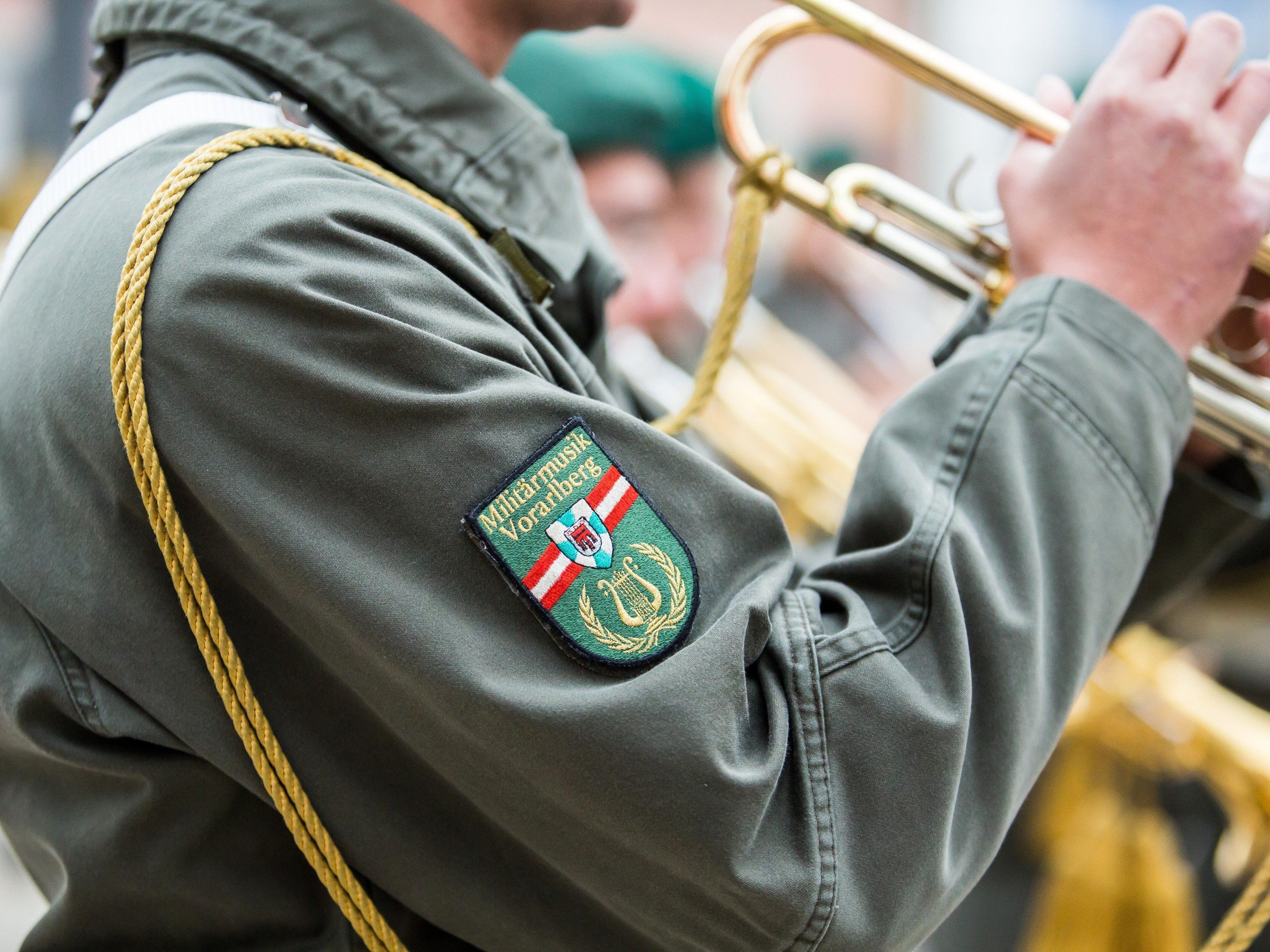Militärmusik Vorarlberg: Kapelle wird deutlich kleiner.