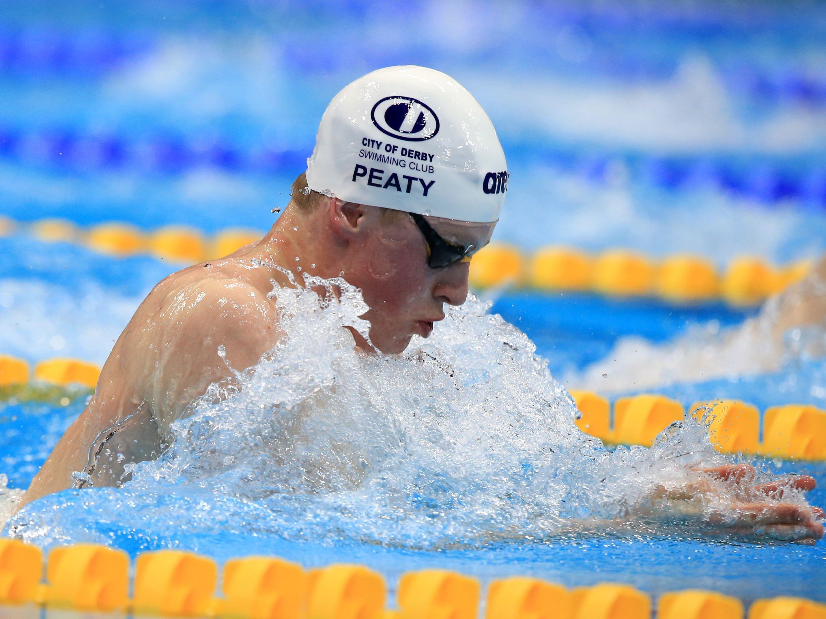 Schwimmen: Adam Peaty über 100 m Brust mit Weltrekord.
