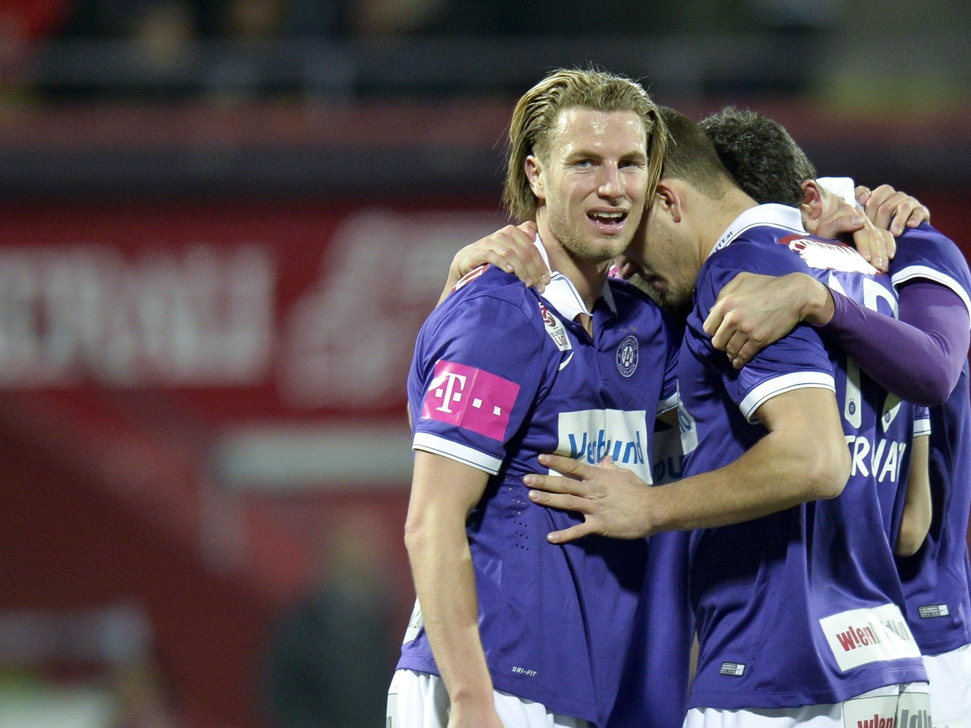 Am Dienstag geht es für die Austria Wien im ÖFB-Cup-Viertelfinale um einen Startplatz in der Europa League.