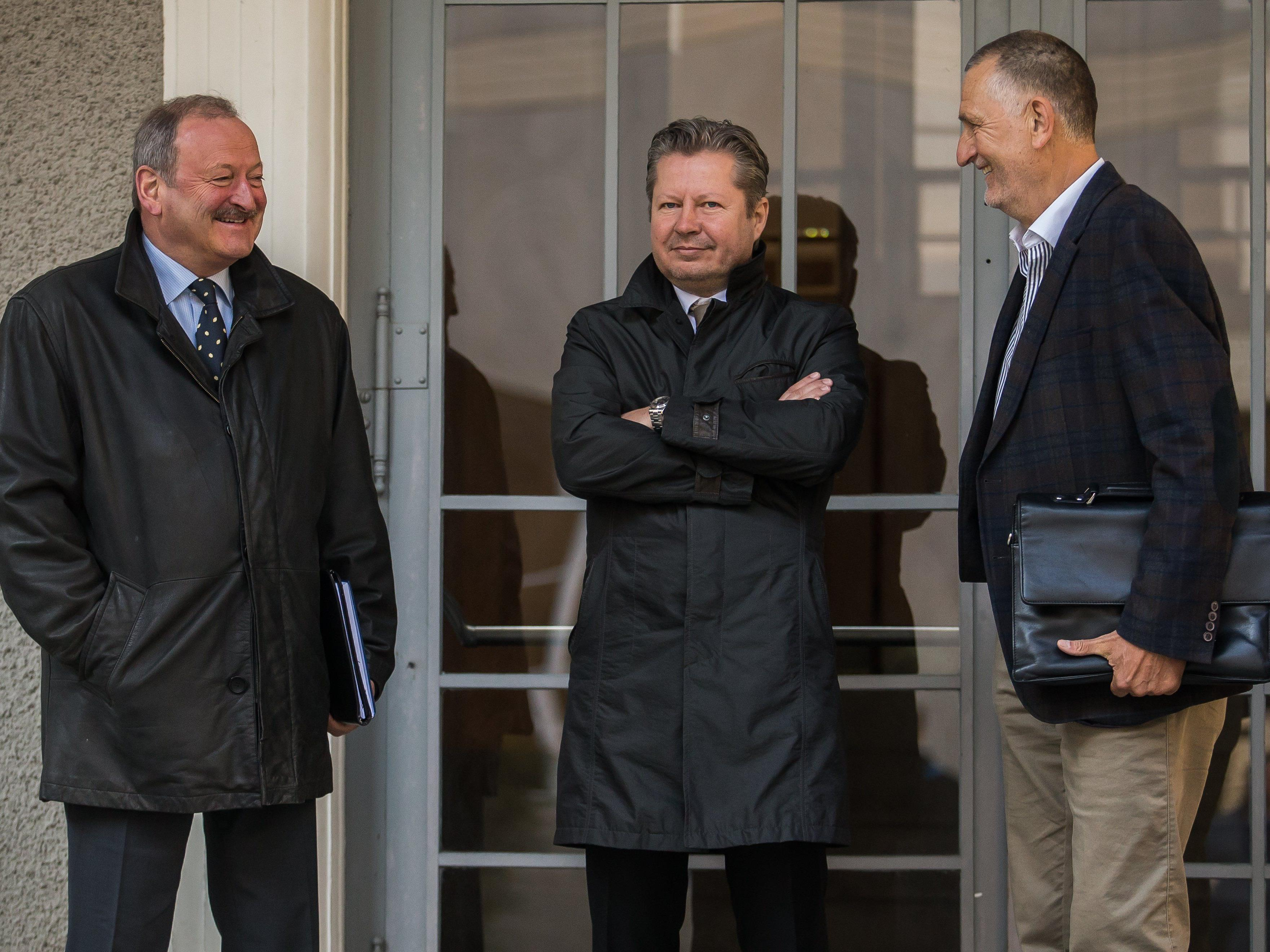Ehemaliger Minister sagt im Meusburger-Prozess aus - unter Ausschluss der Öffentlichkeit.