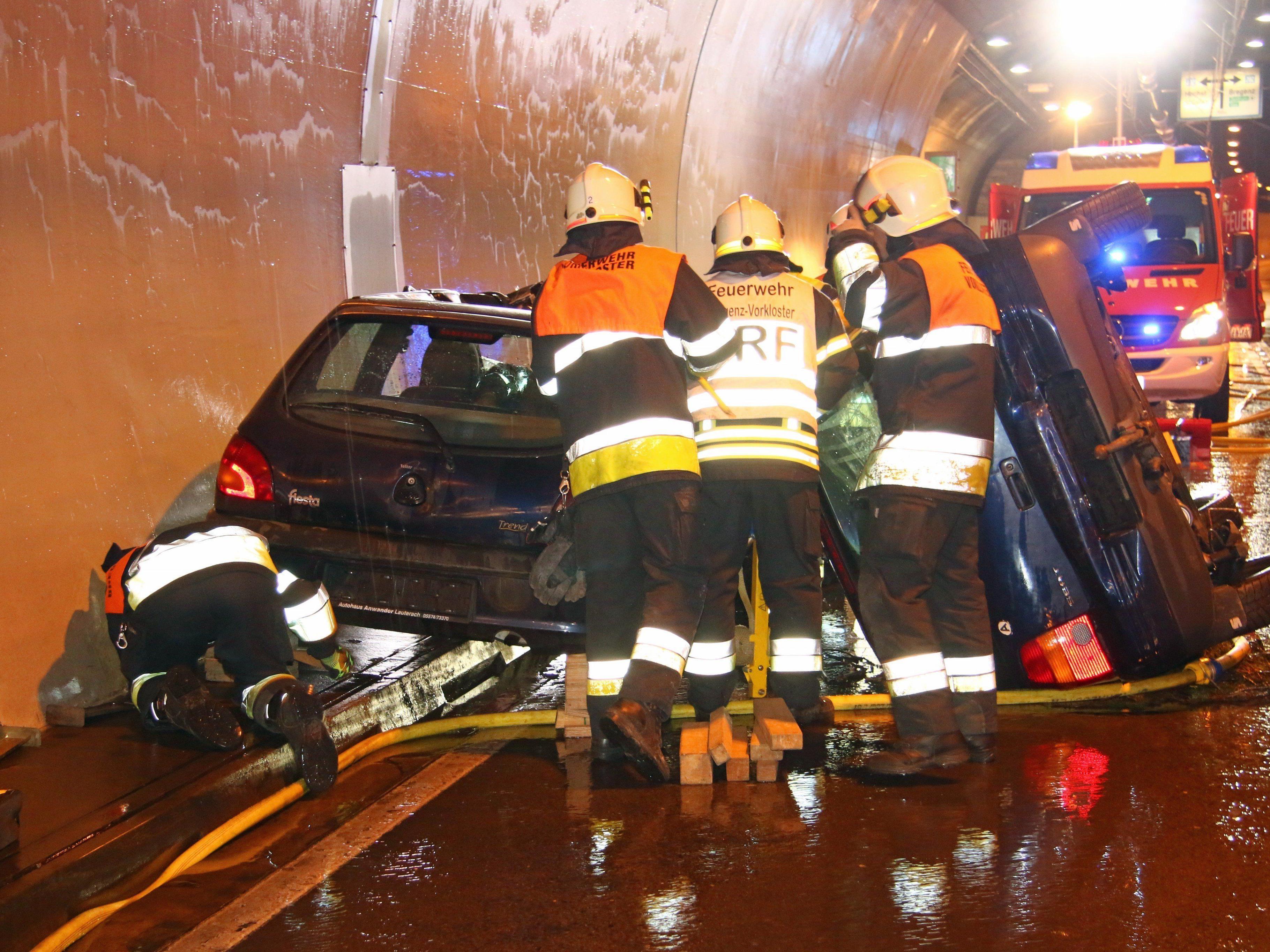 Die Übung im Citytunnel verlief reibunglos.