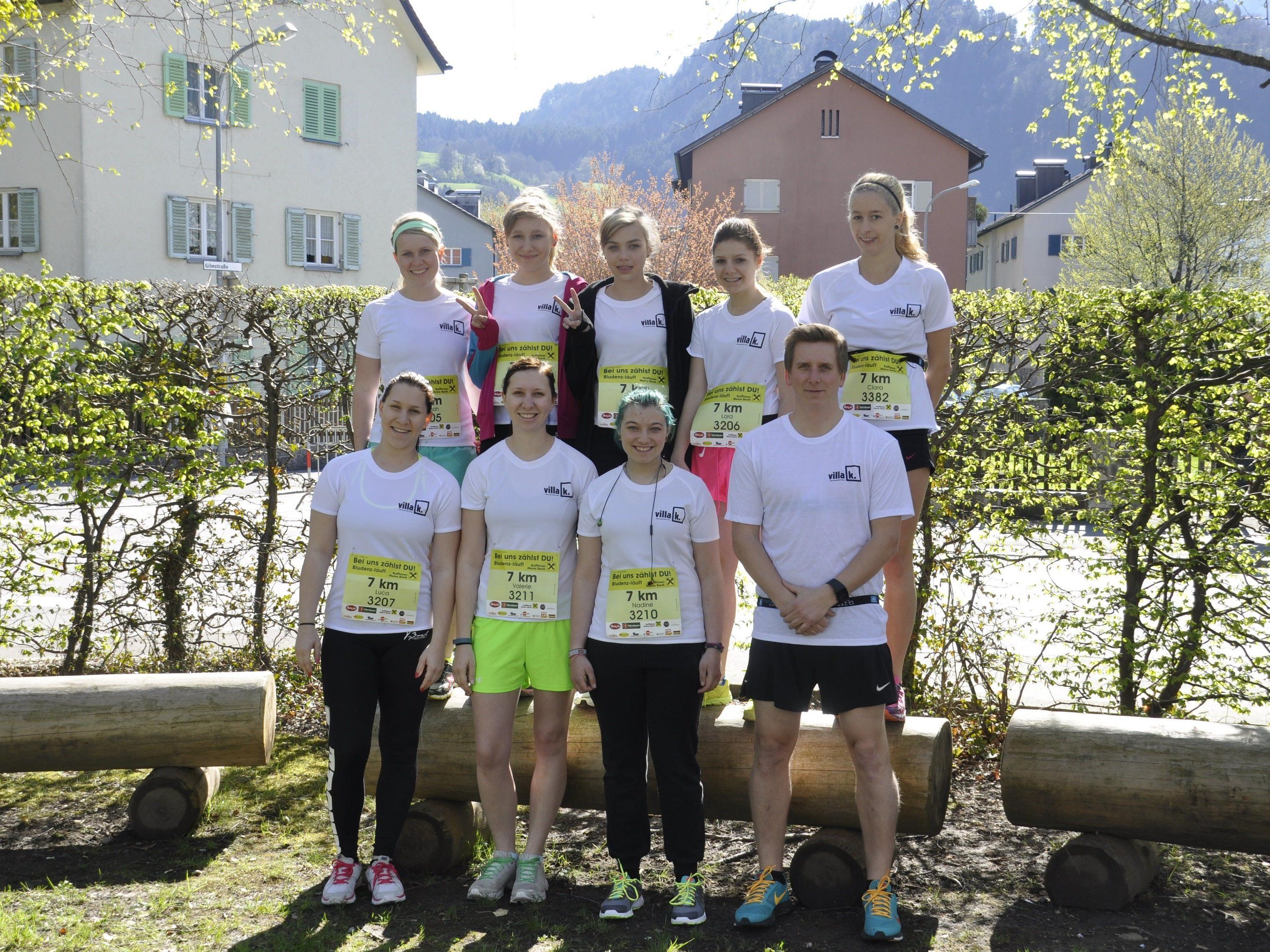 Villa K. Laufteam