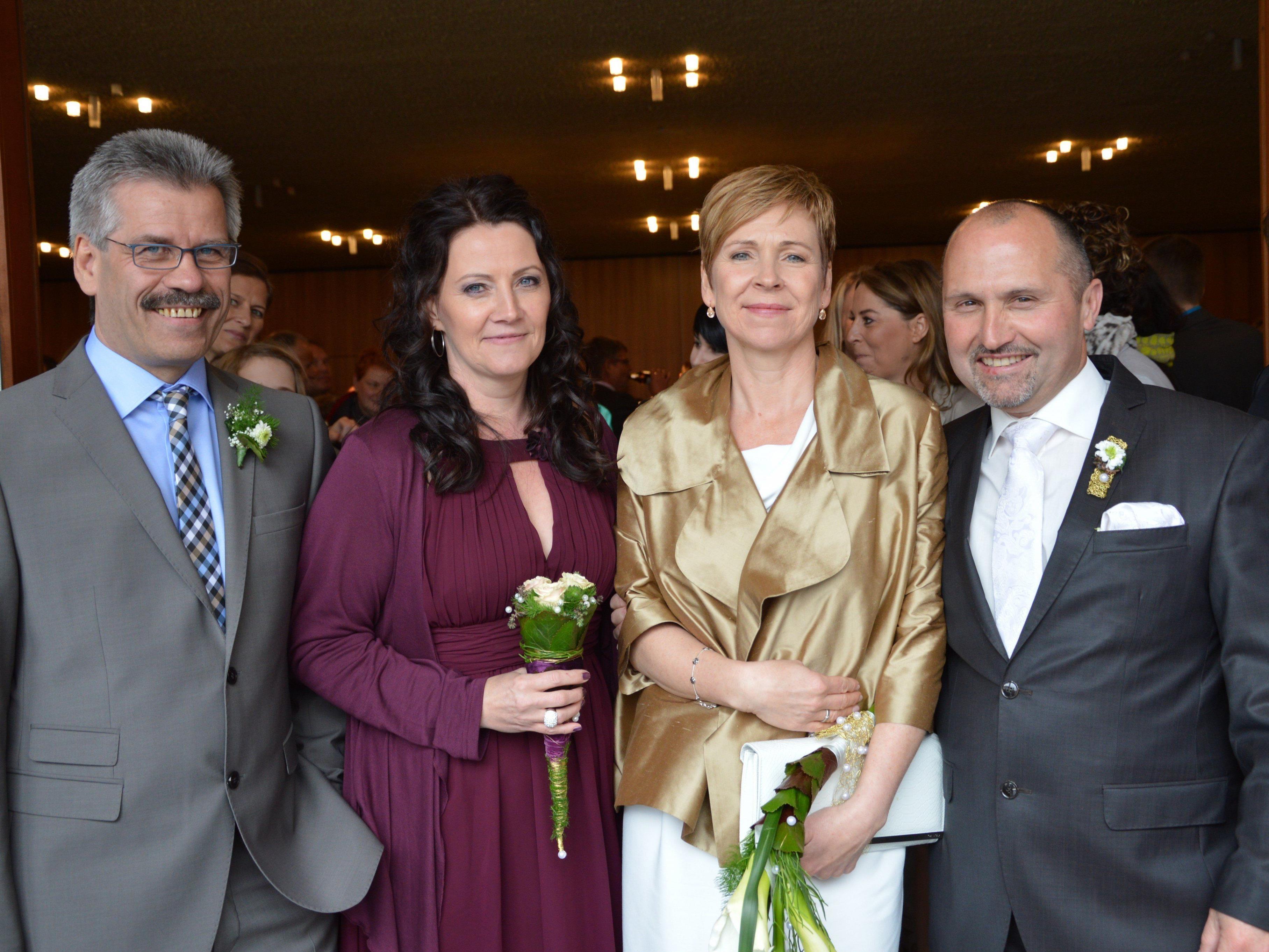 Beate Winsauer und Andreas Dorner haben geheiratet
