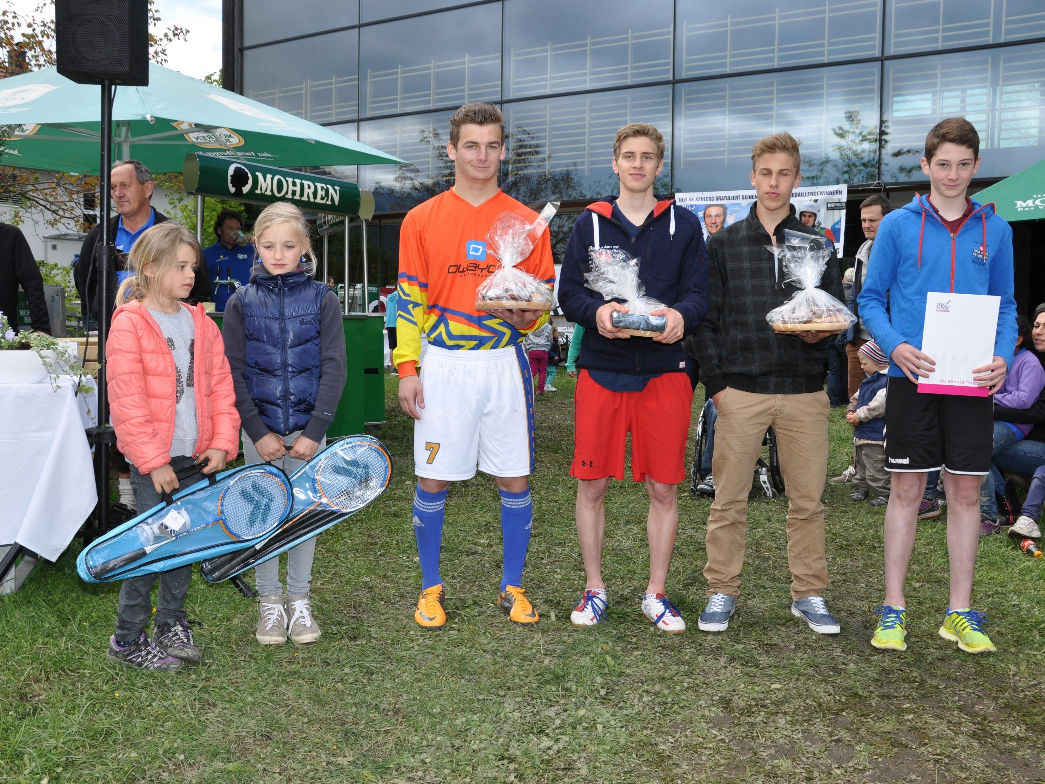 Der SK Kehlegg wird seine erfolgreichen Sportler beim Maifest hochleben lassen.