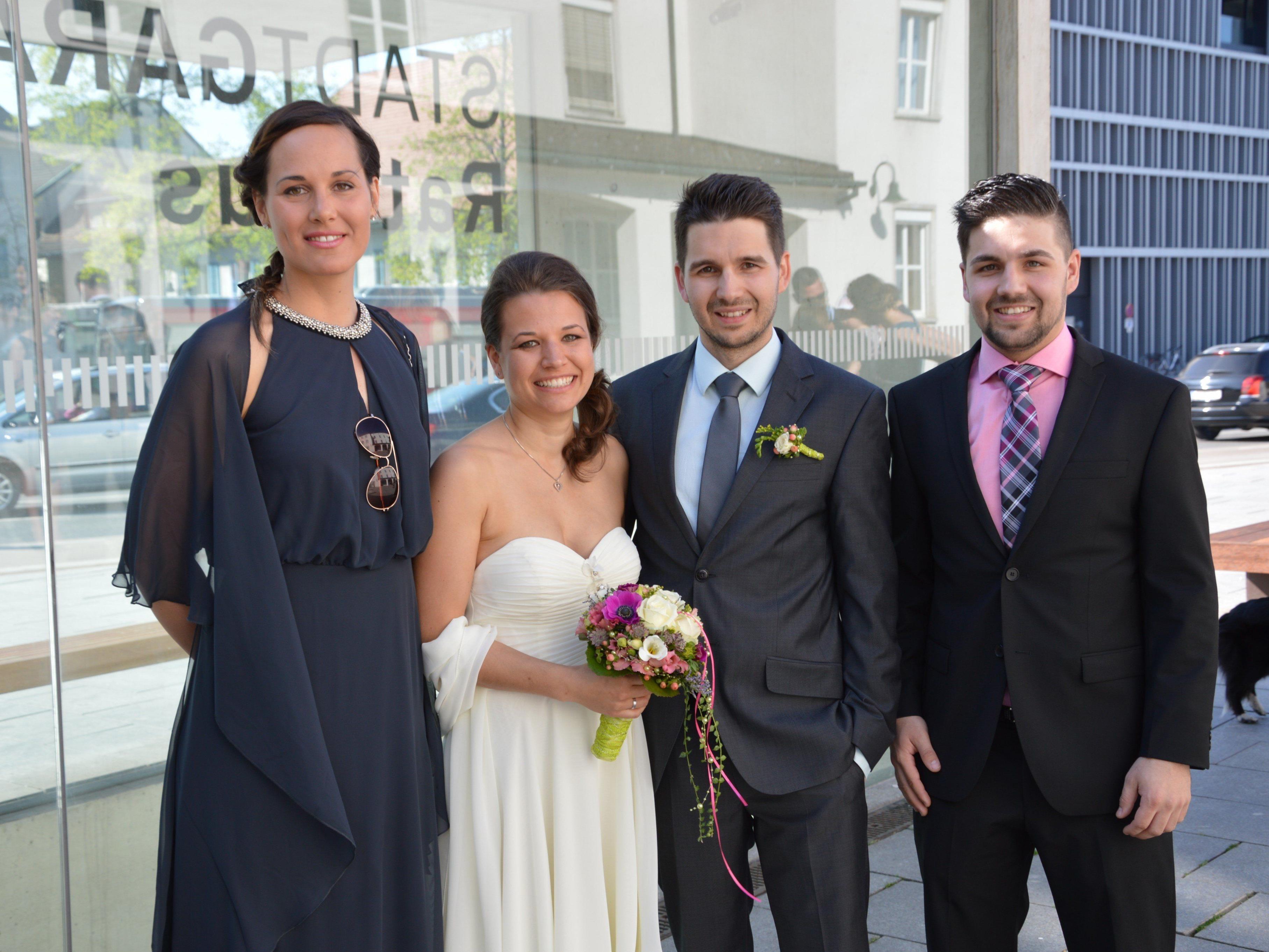Sandra Unterkofler und Dominik Thaler haben geheiratet