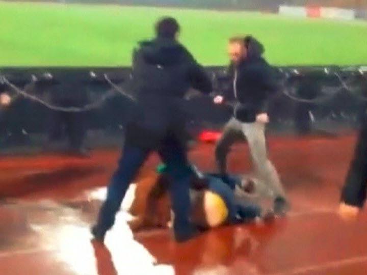 Gewaltexzesse im russischen Fußball.