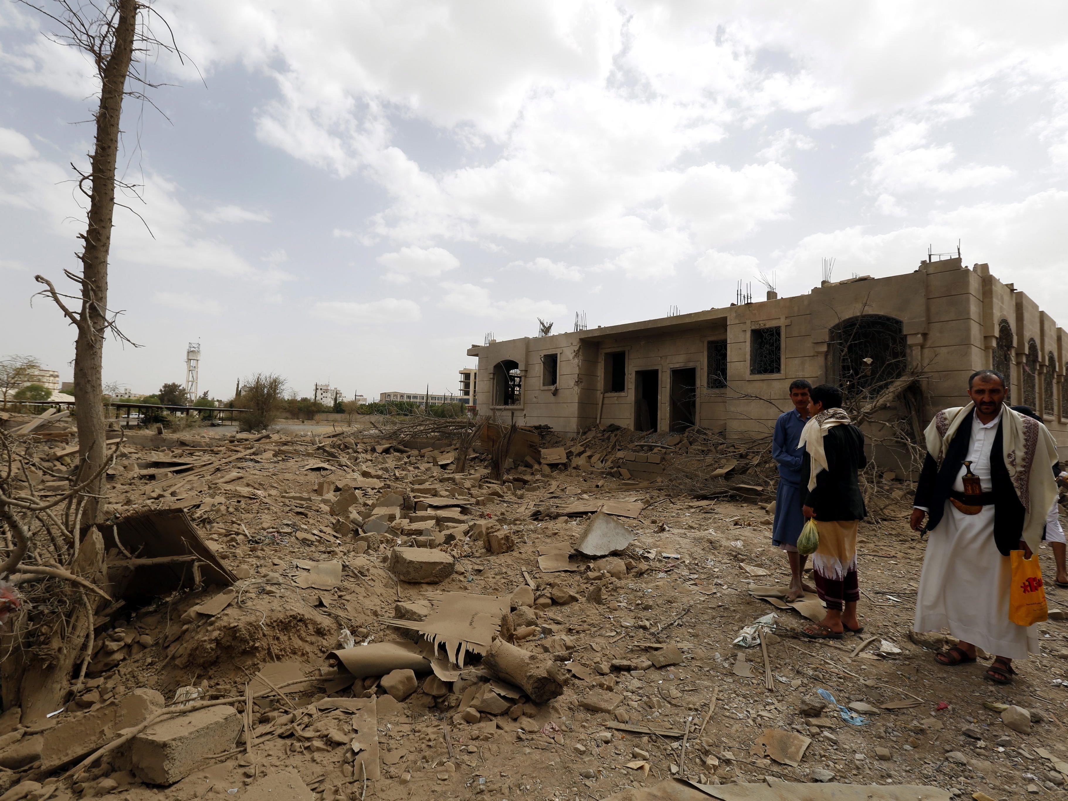 Die Rebellengruppe der Houthi aus dem Nordjemen hatte im Jänner die Hauptstadt Sanaa unter ihre Kontrolle gebracht.
