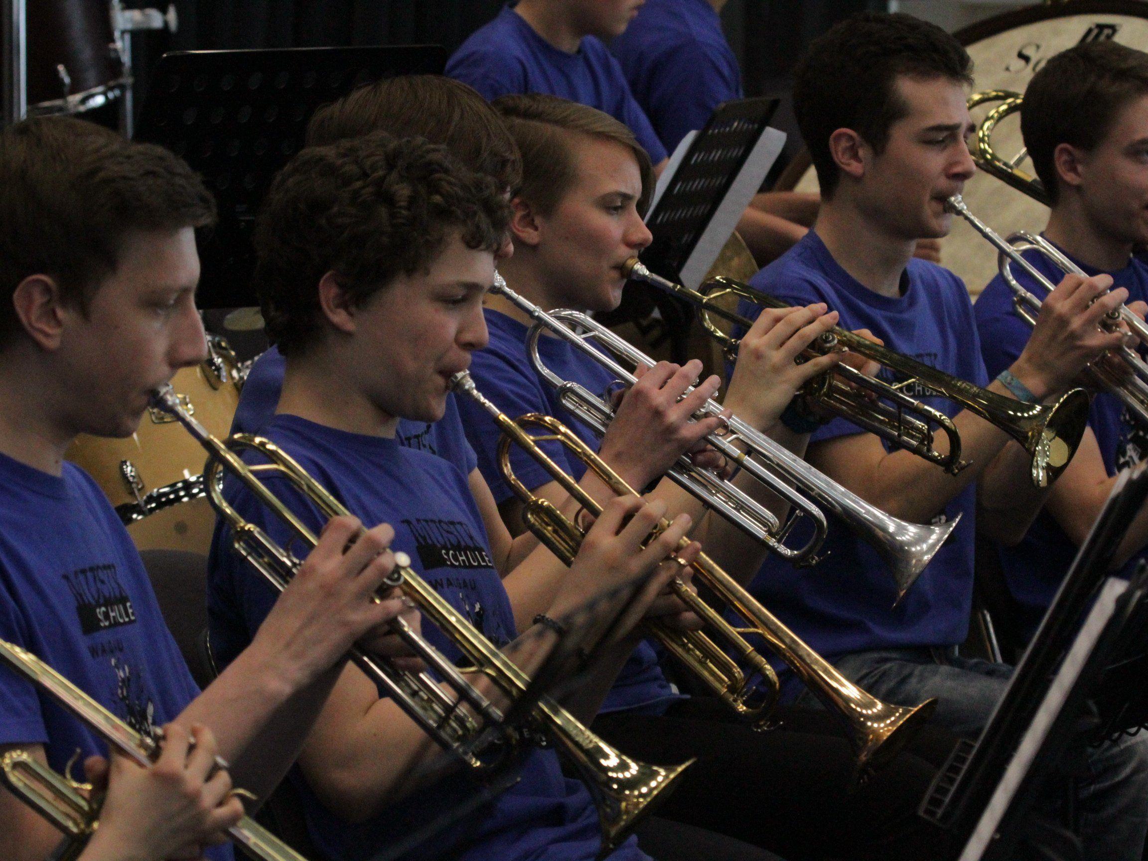 Zum Abschlusskonzert lädt das Lehrkörperteam der Musikschule Walgau
