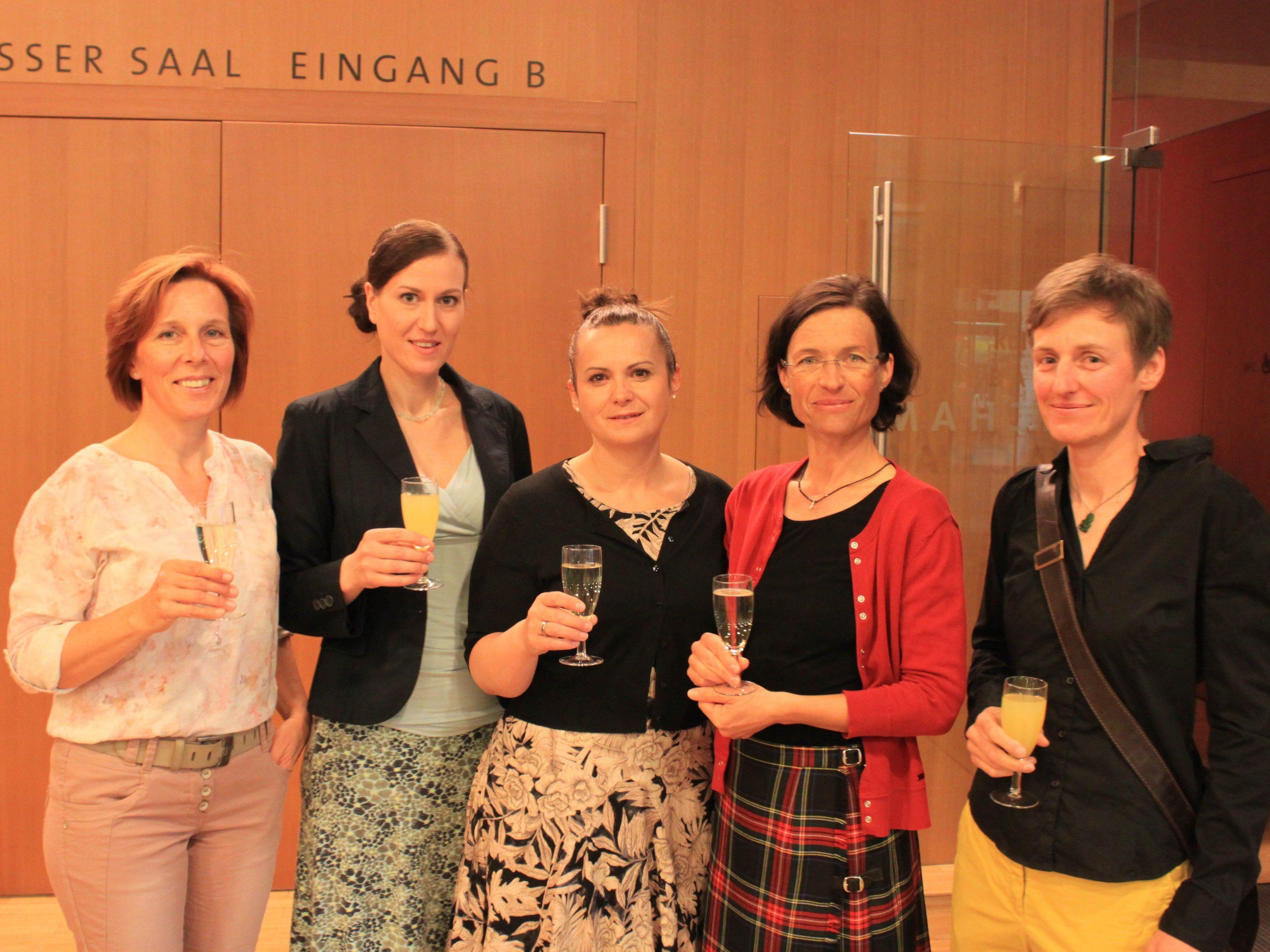 Das Team der Sozialdienste Götzis mit Leiterin Ruth Weiskopf (2.v.r.)
