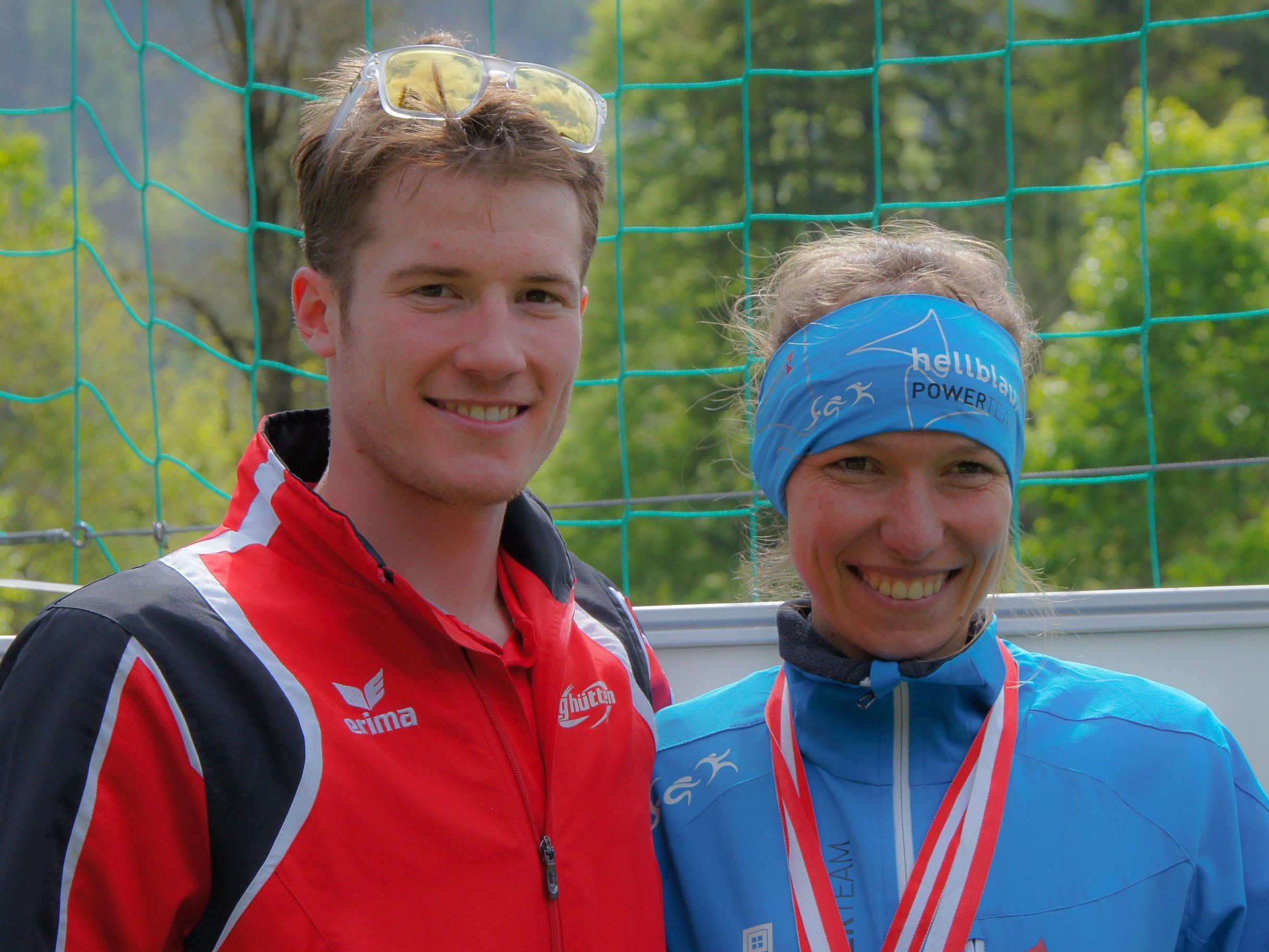 Denise Neufert und Martin Bader sind die Titelverteidiger