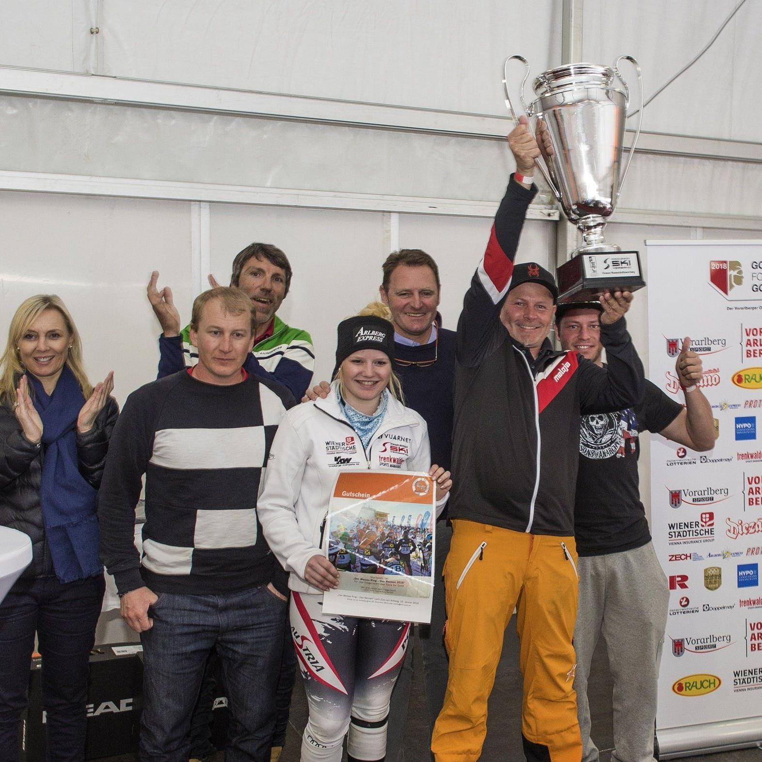 Die Sieger vom Gold for Race