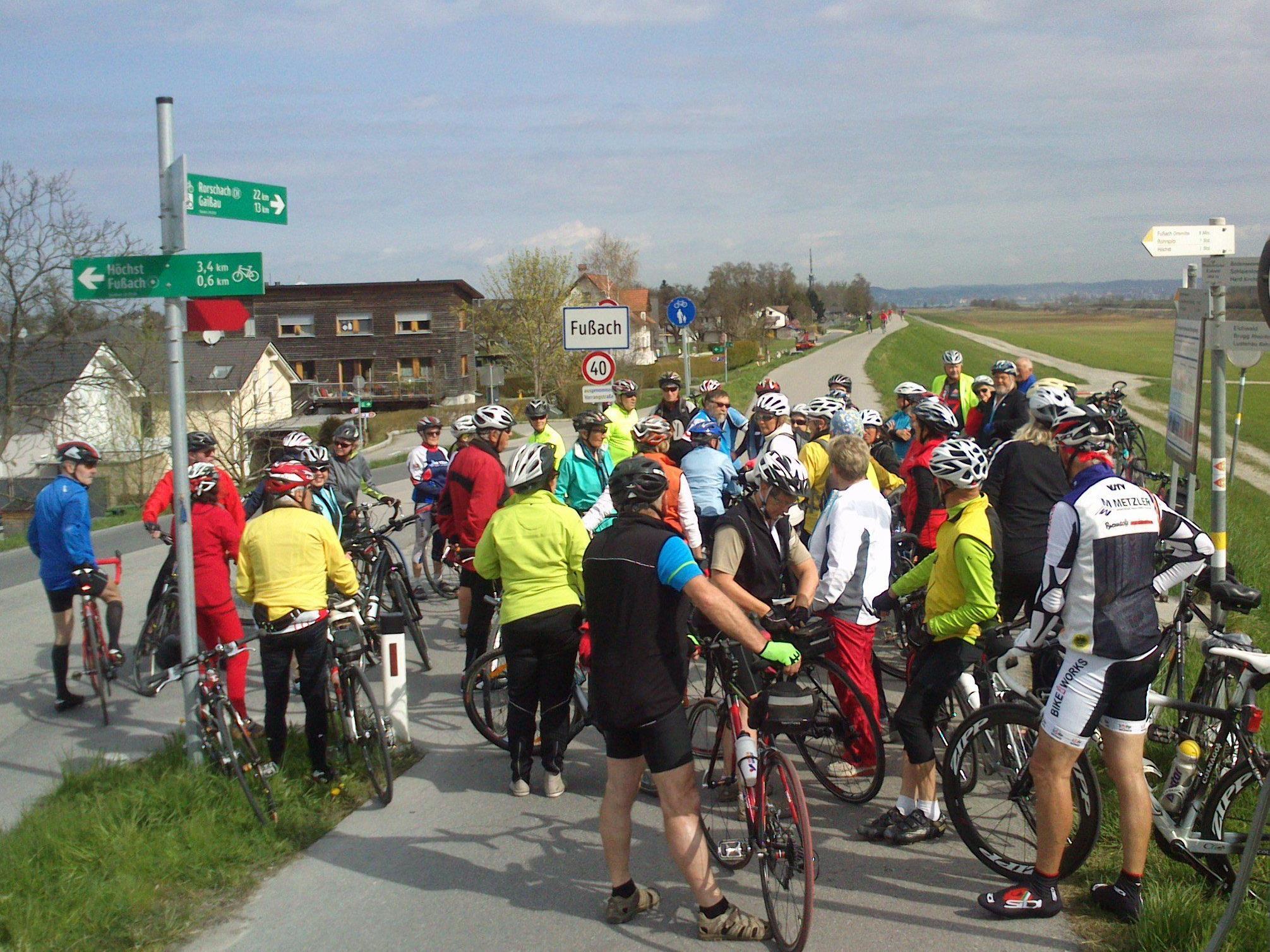 Saisonauftakt ins Rheindelta und Rheintal.