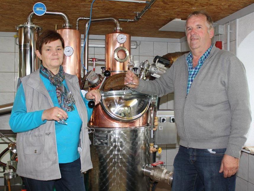 """Auch die Brenner Regina Sutter und Norbert Bereuter beteiligen sich an """"Krumbach goht um""""."""