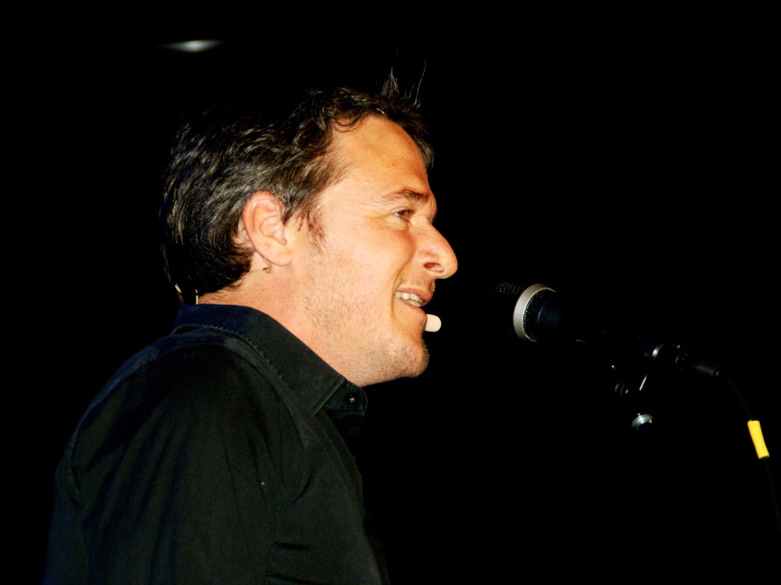 Christof Spörk unterhielt das Publikum im KOM