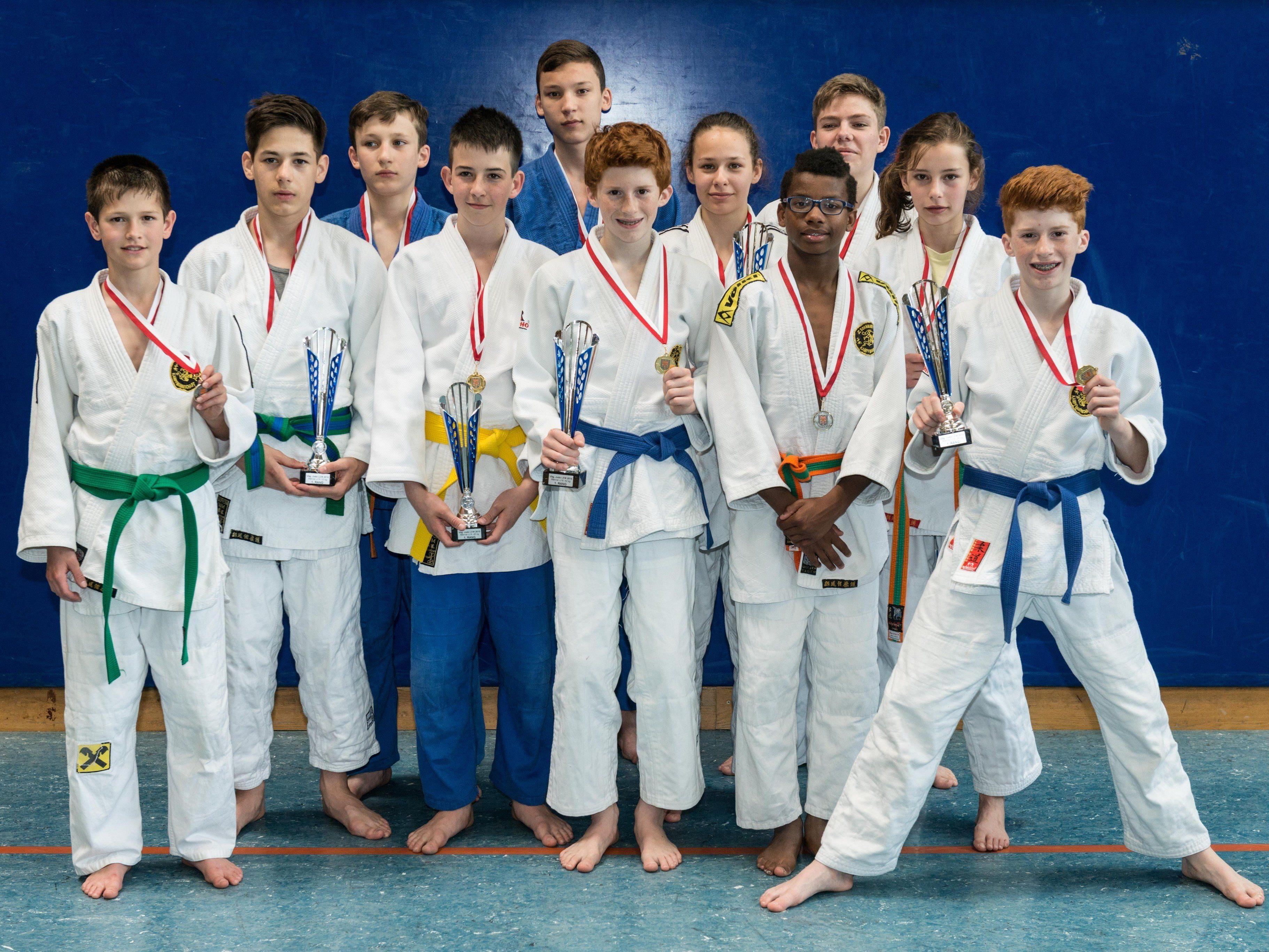 U16 holten 12 Medaillen