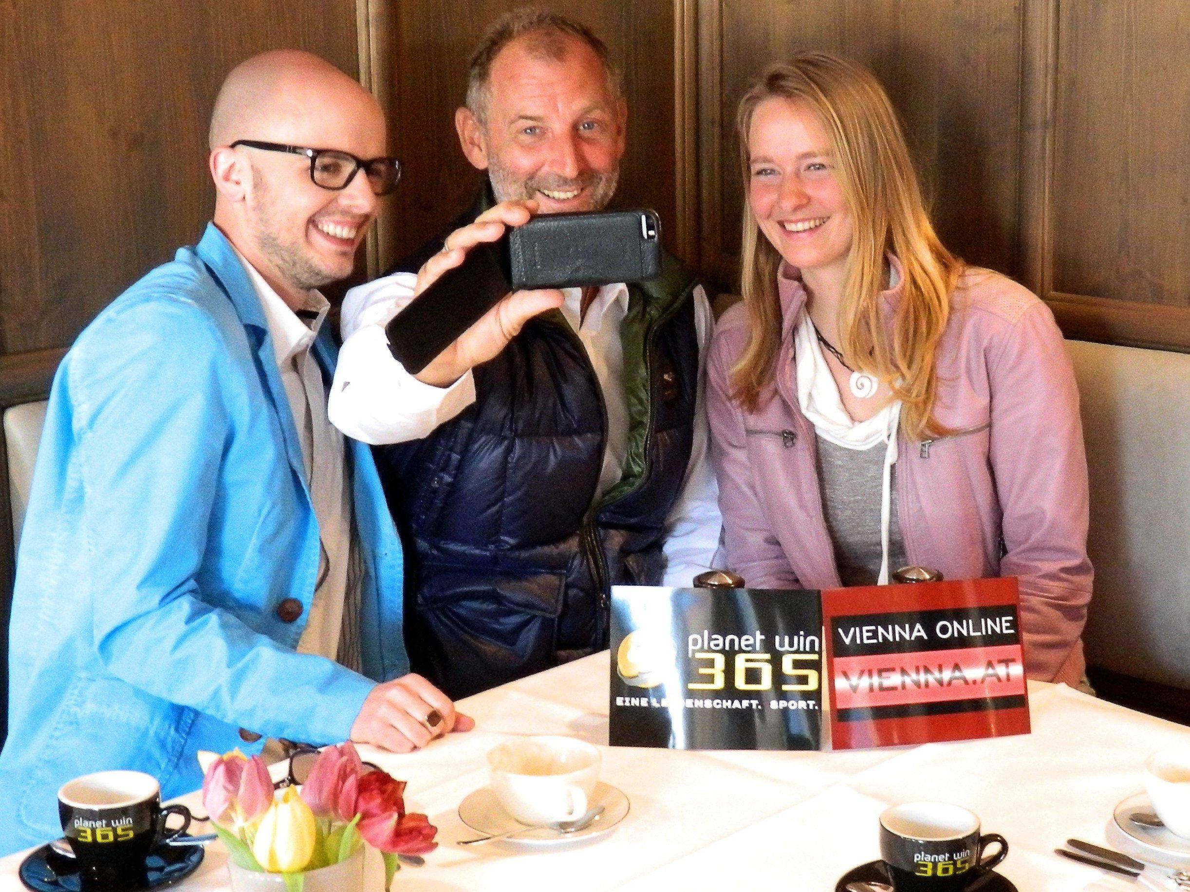 VIENNA.at-User Thomas Pail traf Tennis-legende Thomas Muster zum Frühstück.
