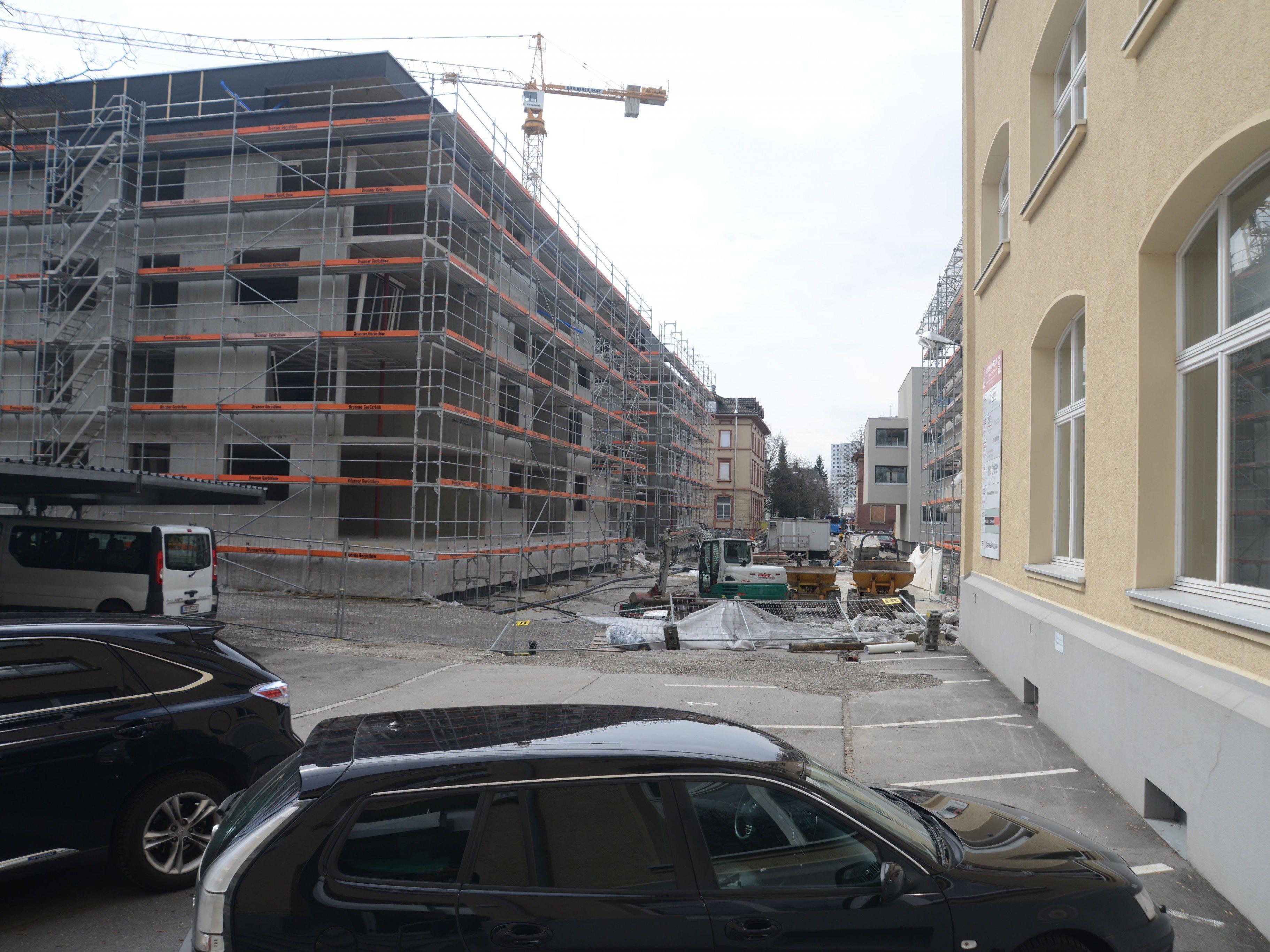Im Maggi-Areal wurden gestern die ersten 42 der insgesamt 200 Wohnungen übergeben.