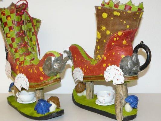 buy popular 88071 5c903 Verrückte Schuhe beim Wiener Schuhmacherball 2015 am ...