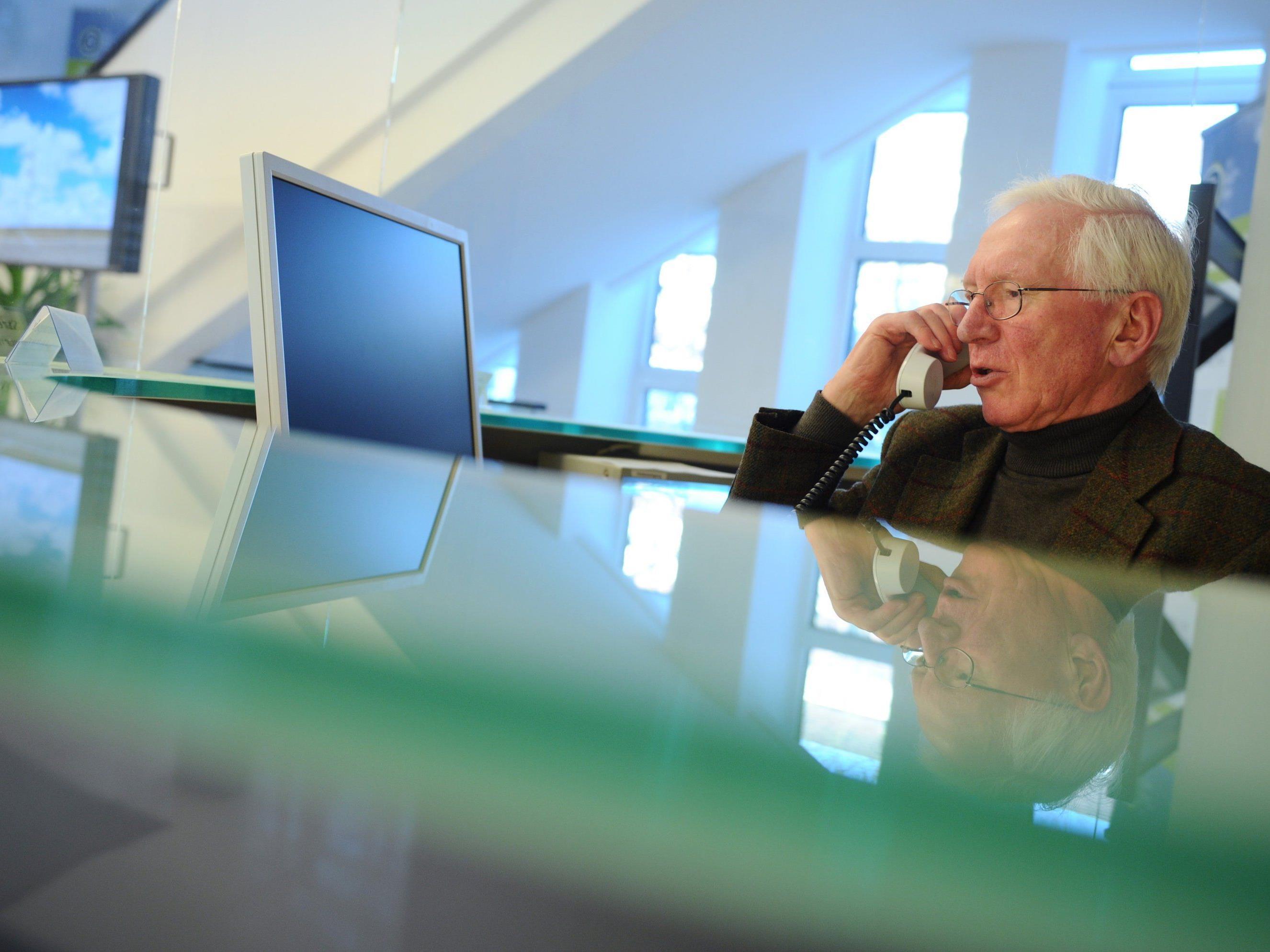 Im Jahr 2020 soll laut AK jeder vierte Erwerbstätige in Vorarlberg über 50 sein.