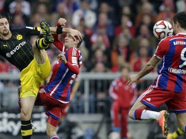 Spitzenspiel in Dortmund: BVB empfängt den FCB