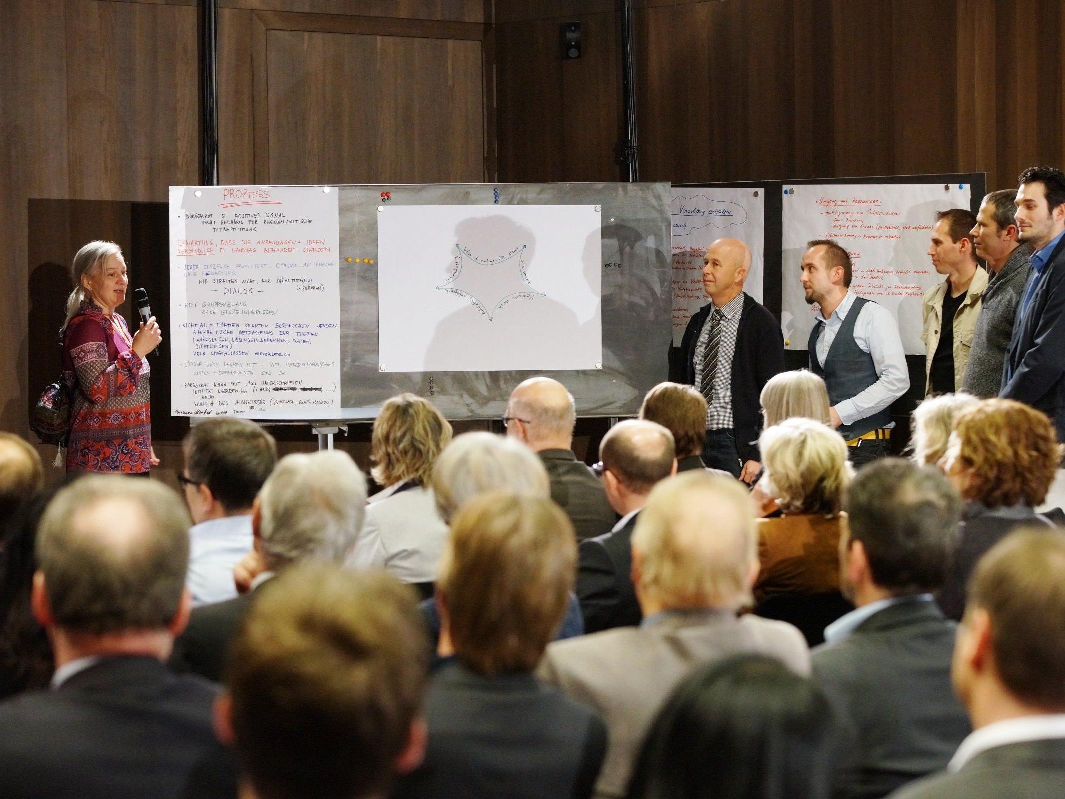 Die letzte Landtagsenquete fand 2013 im vorarlberg museum statt