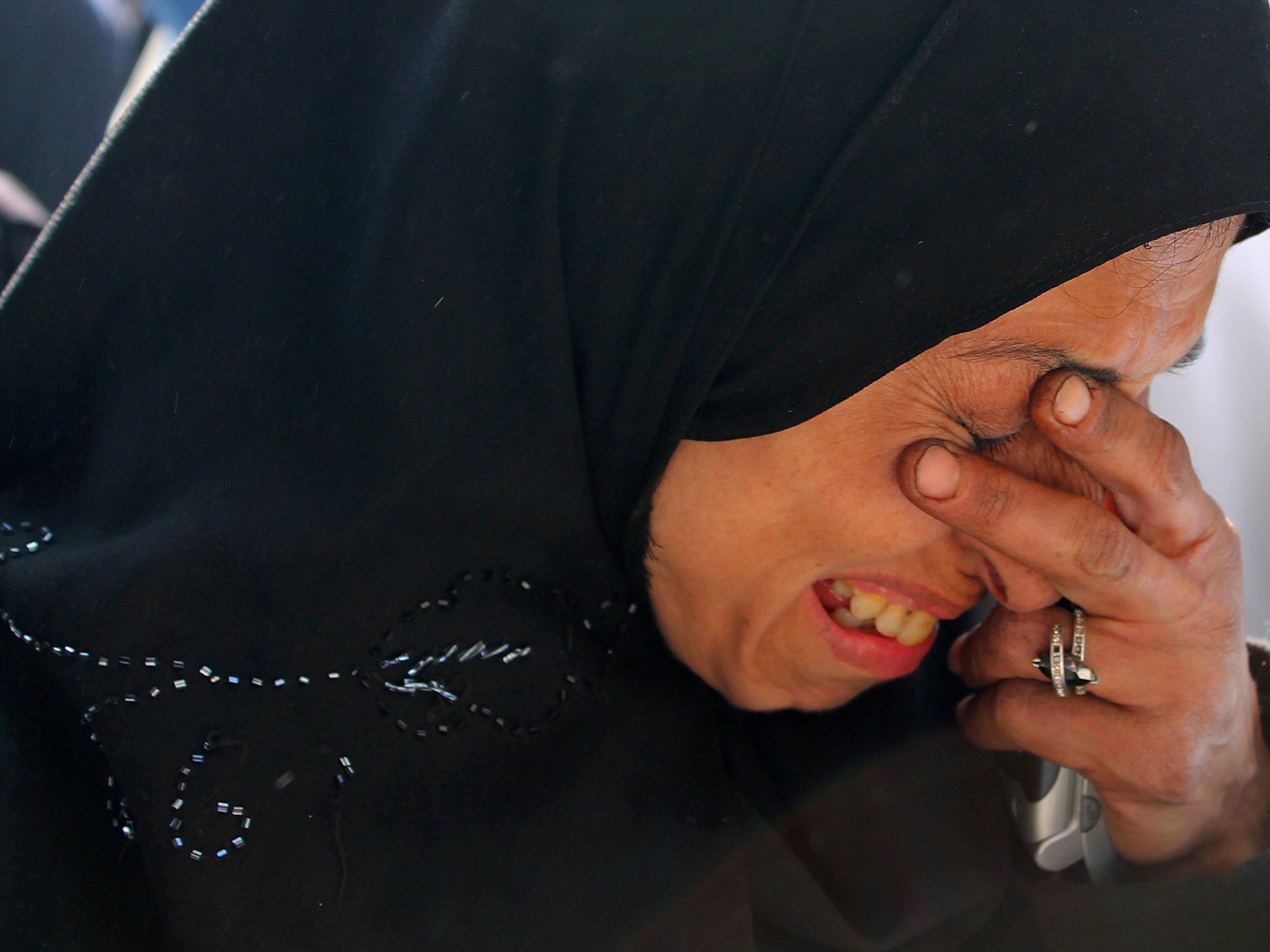 Die aufgebrachten Palästinenser warfen Israel vor, für den Tod verantwortlich zu sein.