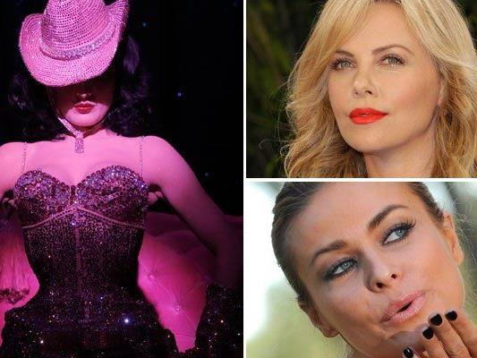 Charlize Theron, Kelly Osbourne und Mary J. Blige vergolden Life Ball
