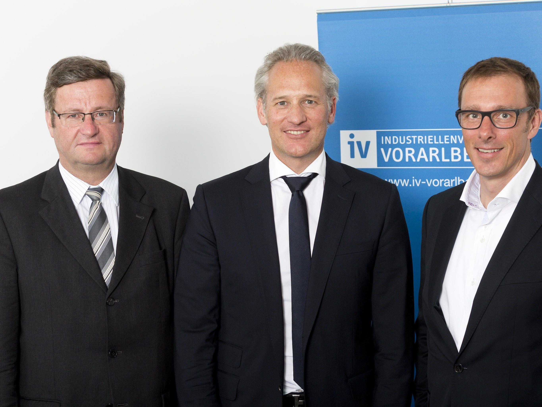 IV Präsidium (v.l.n.r.: Dieter Gruber, Martin Ohneberg, Bernhard Ölz)
