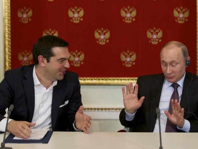 Geld will Tsipras von Putin nicht, aber...