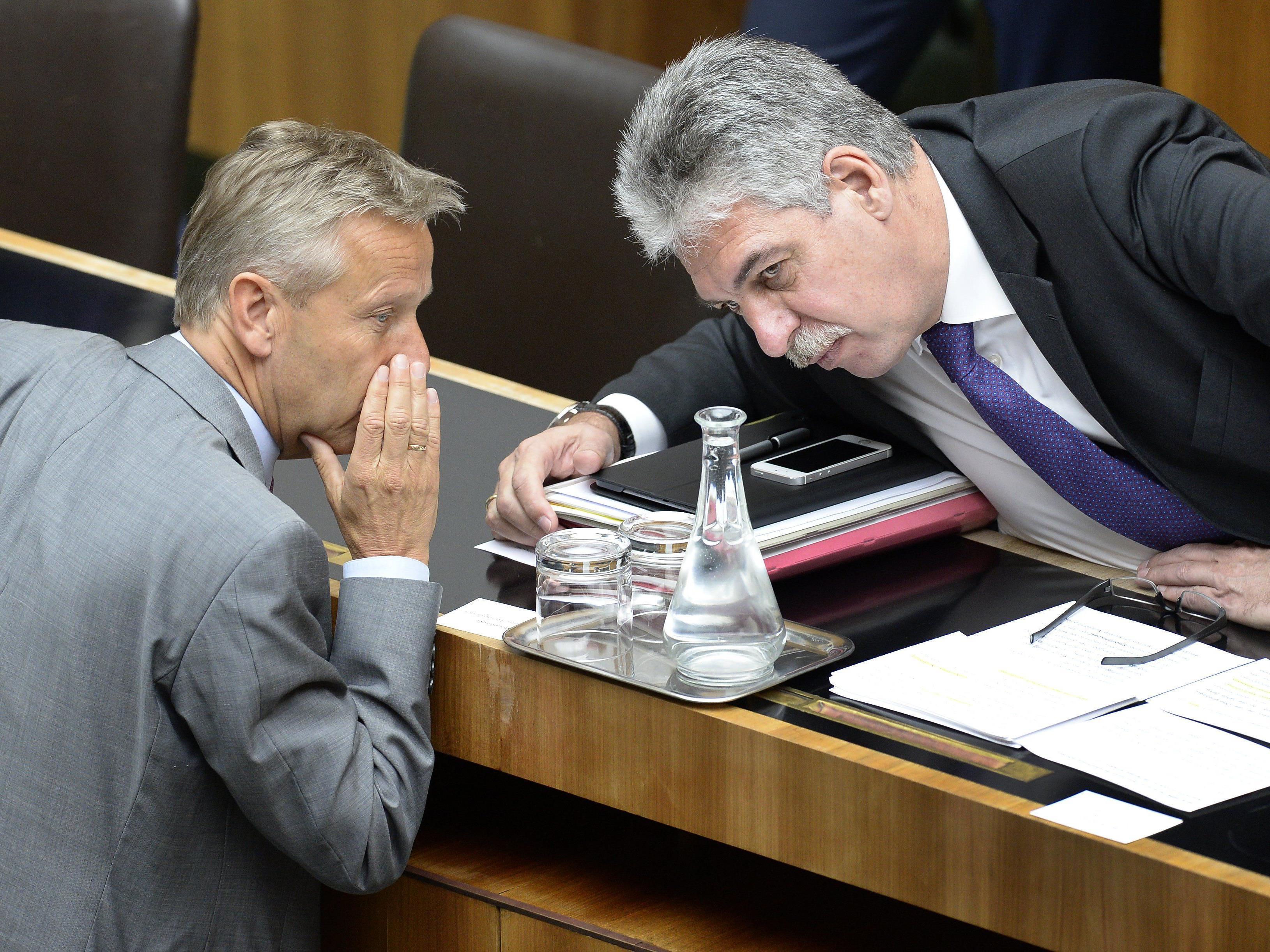 Finanzminister Schelling hätte gerne mehr Konteneinblick für Steuerprüfer.