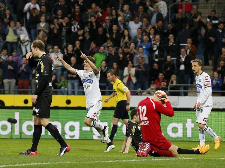Altach hatte gegen Graz am Samstag keine Chance