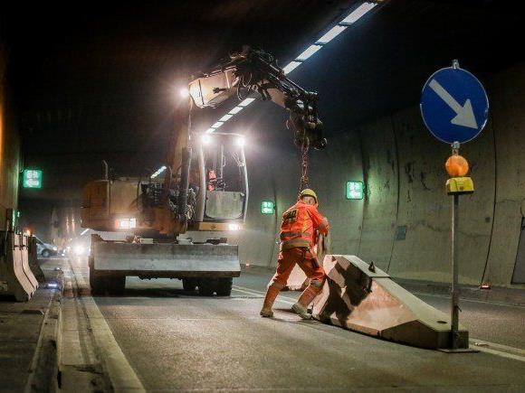 ASFINAG saniert den Arlbergtunnel zwischen Tirol und Vorarlberg