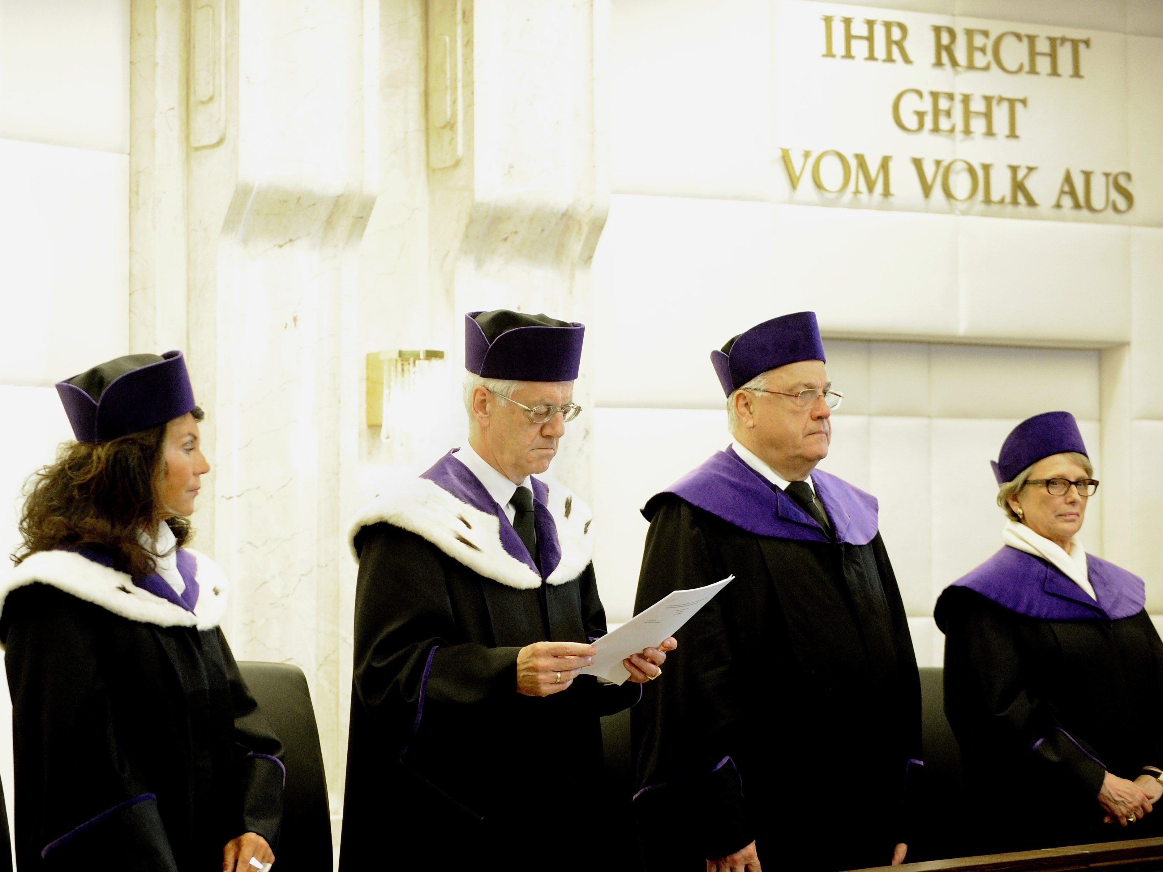 Die Anfechtungen der Bürgermeisterwahlen in Bludenz und Hohenems liegen nun offiziell beim VfGH.