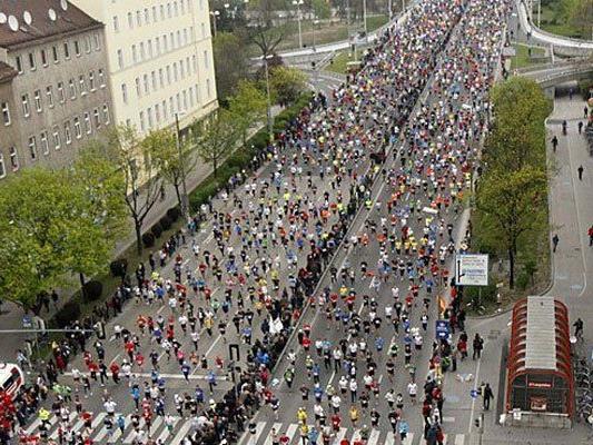 Straßensperren wegen Marathon in Wien