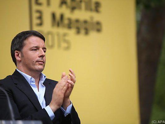 Politischer Erfolg für Premier Matteo Renzi