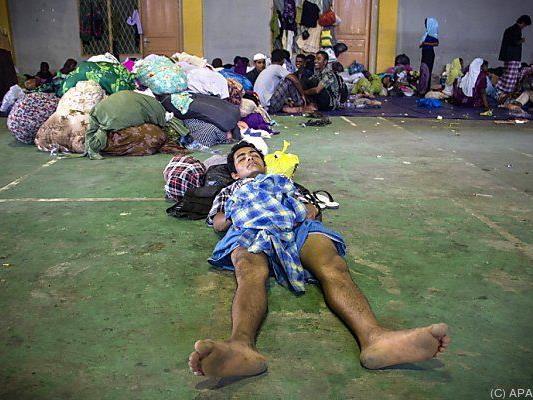 Angehörige der Rohingya werden in ihrer Heimat verfolgt